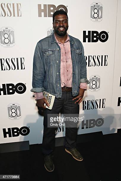 Actor Stephen Hill attends the HBO Bessie 81 Tour at Stephan Weiss Studio on April 30 2015 in New York City