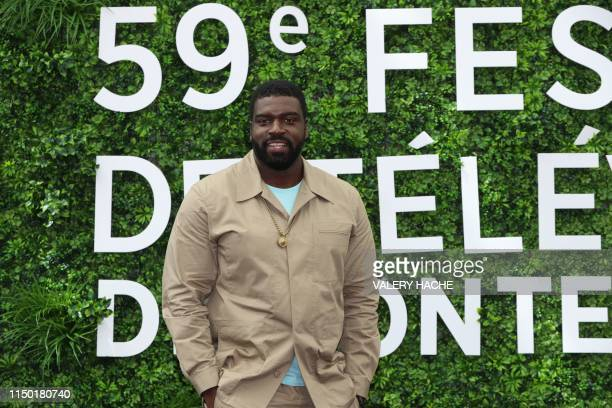 US actor Stephen Hill poses during a photocall for the TV show Magnum PI as part of the 59th MonteCarlo Television Festival on June 16 2019 in Monaco