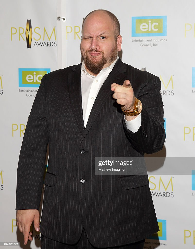 Actor Stephen Kramer Glickman arrives at the 17th Annual PRISM Awards at the Beverly Hills Hotel on April 25, 2013 in Beverly Hills, California.