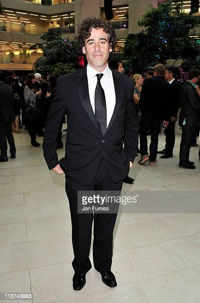 Actor Stephen Mangan attends the nominees party for 'The Philips British Academy Television and British Academy Television Craft Awards' at Coutts...