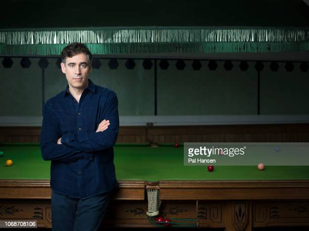 Actor Stephen Mangan is photographed for the Sunday Times on February 20 2018 in London England