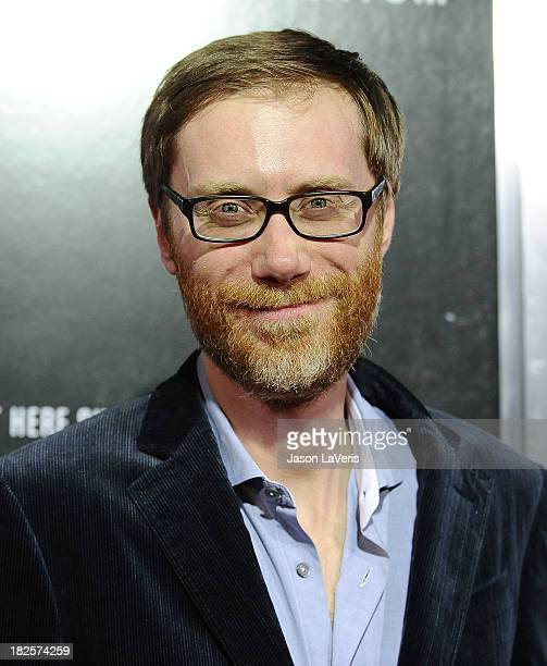 Actor Stephen Merchant attends the premiere of Captain Phillips at the Academy of Motion Picture Arts and Sciences on September 30 2013 in Beverly...
