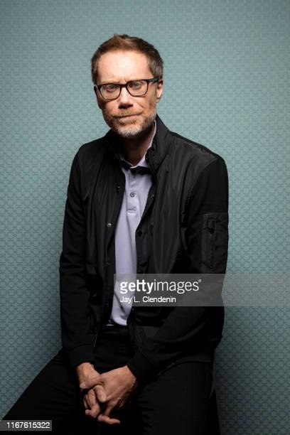 Actor Stephen Merchant from 'Jojo Rabbit' is photographed for Los Angeles Times on September 8 2019 at the Toronto International Film Festival in...
