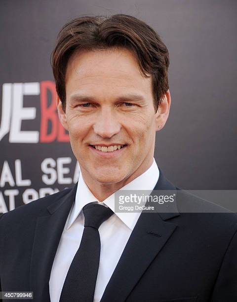 """Actor Stephen Moyer arrives at HBO's """"True Blood"""" final season premiere at TCL Chinese Theatre on June 17, 2014 in Hollywood, California."""