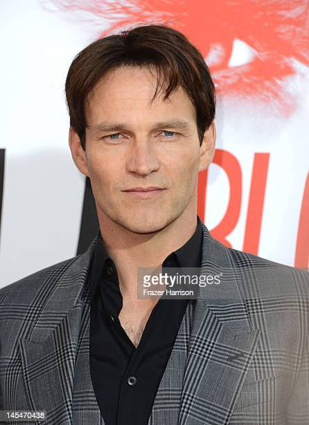 """Actor Stephen Moyer arrives at the Premiere Of HBO's """"True Blood"""" 5th Season at ArcLight Cinemas Cinerama Dome on May 30, 2012 in Hollywood,..."""