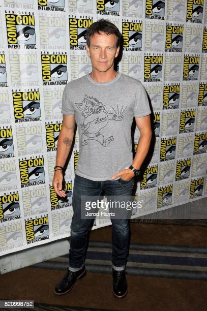 Actor Stephen Moyer at 'The Gifted' Press Line during ComicCon International 2017 at Hilton Bayfront on July 22 2017 in San Diego California