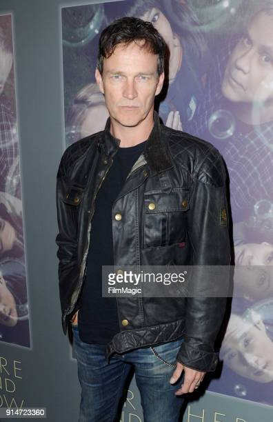 Actor Stephen Moyer at the Los Angeles Premiere of HBO's New Drama Series HERE AND NOW on February 5 2018 in Los Angeles California