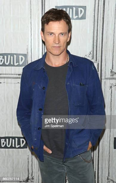 Actor Stephen Moyer attends Build to discuss 'The Gifted' at Build Studio on October 11 2017 in New York City