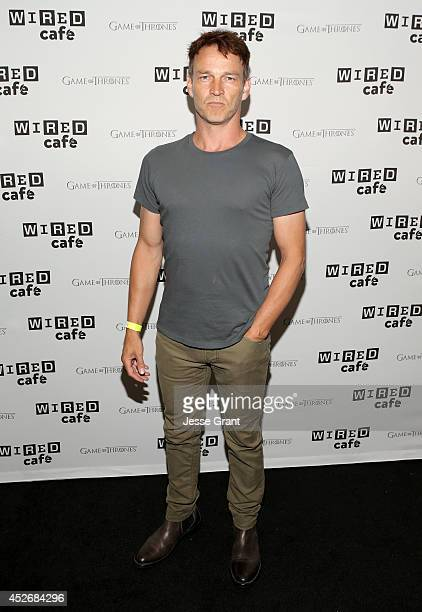 Actor Stephen Moyer attends day 2 of the WIRED Cafe @ Comic Con at Omni Hotel on July 25 2014 in San Diego California