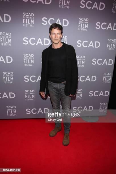 Actor Stephen Moyer attends the 21st SCAD Savannah Film Festival opening night on October 27, 2018 in Savannah, Georgia.