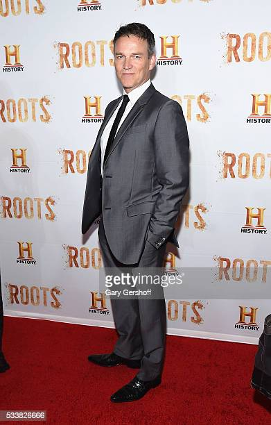Actor Stephen Moyer attends the Roots night one screening at Alice Tully Hall Lincoln Center on May 23 2016 in New York City