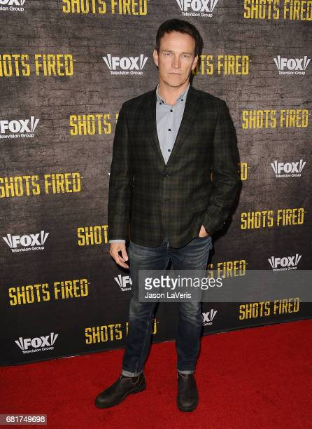 Actor Stephen Moyer attends the 'Shots Fired' FYC event at Saban Media Center on May 10 2017 in North Hollywood California