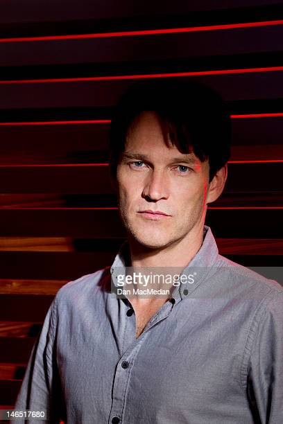 Actor Stephen Moyer is photographed for USA Today on June 5 2012 in Santa Monica California