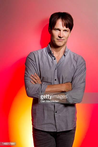 Actor Stephen Moyer is photographed for USA Today on June 5 2012 in Santa Monica California PUBLISHED IMAGE
