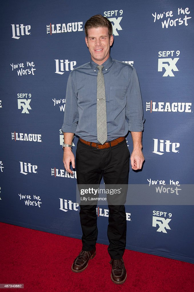 Actor Stephen Rannazzisi attends the premiere of FXX's 'The League' Final Season and 'You're The Worst' 2nd Season at Regency Bruin Theater on September 8, 2015 in Westwood, California.