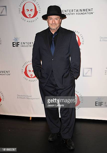 Actor Stephen Root attends the 23rd annual Simply Shakespeare benefit reading of The Two Gentlemen of Verona at The Eli and Edythe Broad Stage on...
