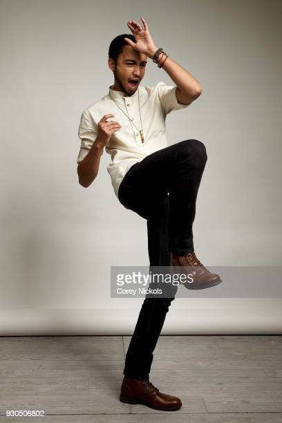 Actor Stephen Ruffin of the film 'Summer '03' poses for a portrait in the Getty Images Portrait Studio Powered by Pizza Hut at the 2018 SXSW Film...