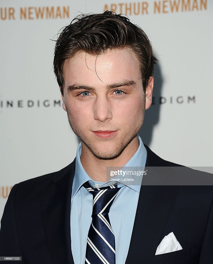 Actor Sterling Beaumon attends the premiere of 'Arthur Newman' at ArcLight Hollywood on April 18, 2013 in Hollywood, California.