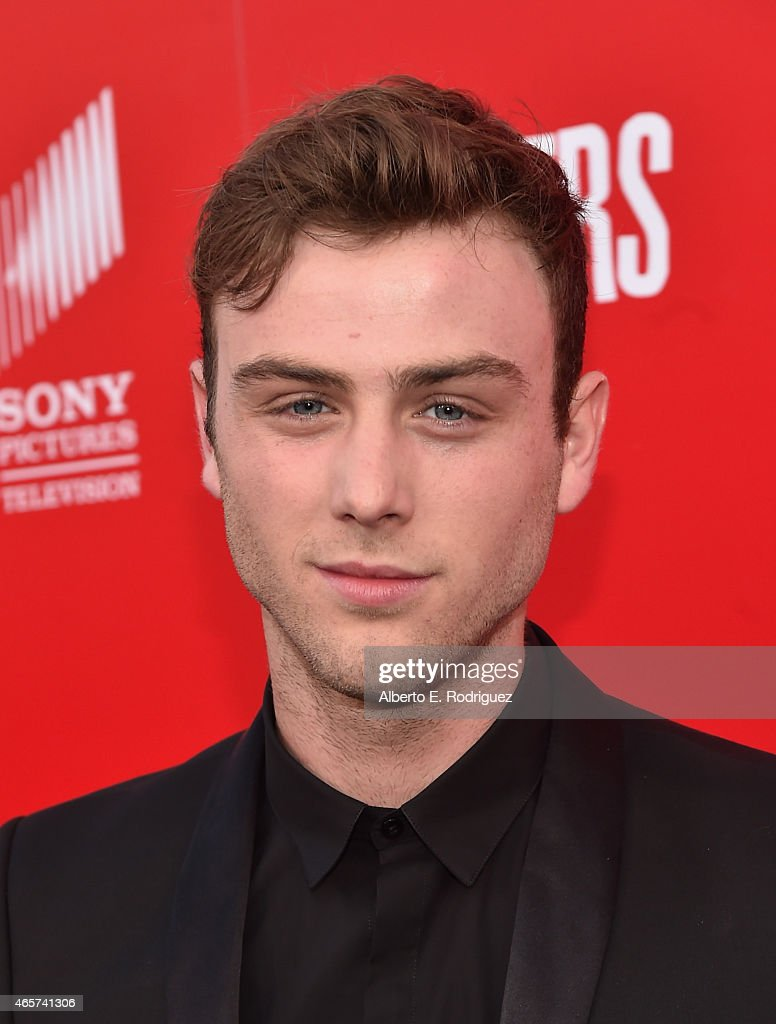 Actor Sterling Beaumon attends the series premiere of Sony Television's 'Powers' at Sony Pictures Studios on March 9, 2015 in Culver City, California.