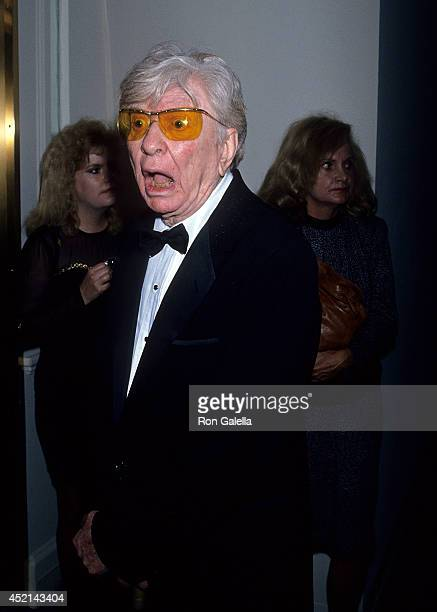 Actor Sterling Holloway attends the Seventh Annual American Cinema Awards on January 27 1990 at the Beverly Hilton Hotel in Beverly Hills California