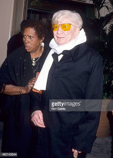 Actor Sterling Holloway attends the Sixth Annual American Cinema Awards on January 6 1989 at the Beverly Hilton Hotel in Beverly Hills California