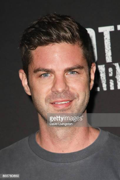 Actor Sterling Jones attends the Knott's Scary Farm and Instagram's Celebrity Night at Knott's Berry Farm on September 29 2017 in Buena Park...