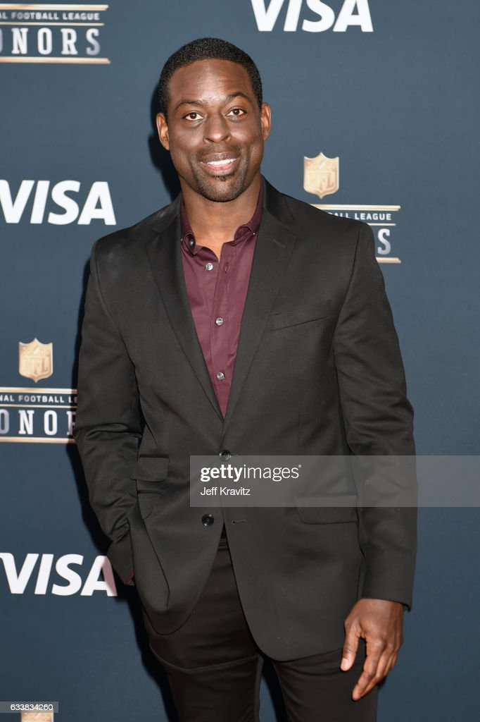 Actor Sterling K. Brown attends 6th Annual NFL Honors at Wortham Theater Center on February 4, 2017 in Houston, Texas.