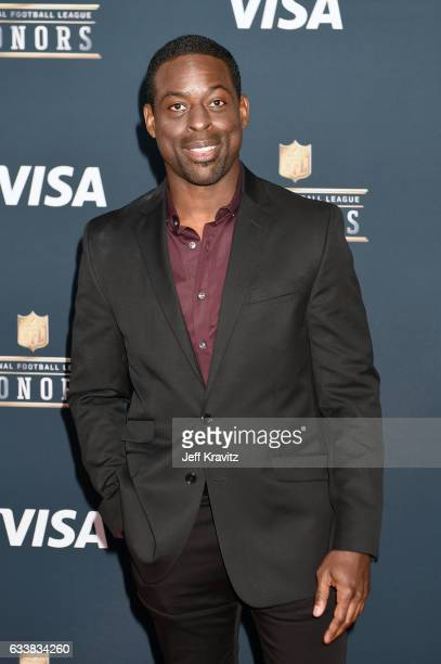 Actor Sterling K Brown attends 6th Annual NFL Honors at Wortham Theater Center on February 4 2017 in Houston Texas