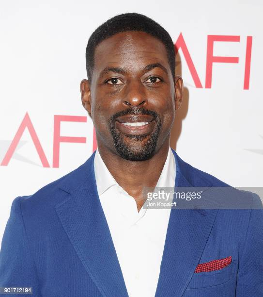 Actor Sterling K Brown attends the 18th Annual AFI Awards at the Four Seasons Hotel on January 5 2018 in Los Angeles California