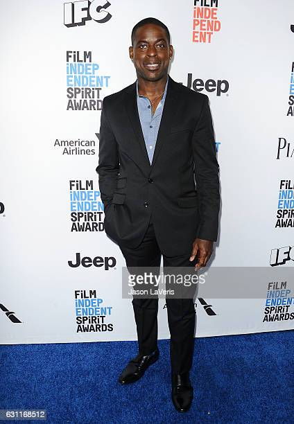 Actor Sterling K Brown attends the 2017 Film Independent filmmaker grant and Spirit Award nominees brunch at BOA Steakhouse on January 7 2017 in West...