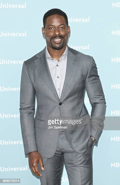 Actor Sterling K Brown attends the 2018 NBCUniversal Upfront presentation at Rockefeller Center on May 14 2018 in New York City