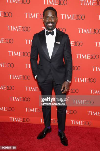 Actor Sterling K Brown attends the 2018 Time 100 Gala at Jazz at Lincoln Center on April 24 2018 in New York City