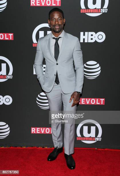 Actor Sterling K Brown attends the 21st Annual Urbanworld Film Festival at AMC Empire 25 theater on September 23 2017 in New York City