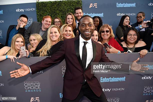Actor Sterling K Brown attends The 22nd Annual Critics' Choice Awards at Barker Hangar on December 11 2016 in Santa Monica California