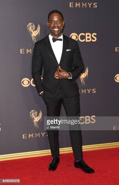 Actor Sterling K Brown attends the 69th Annual Primetime Emmy Awards at Microsoft Theater on September 17 2017 in Los Angeles California
