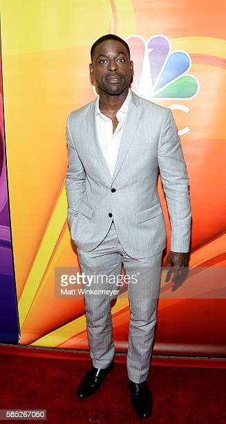 Actor Sterling K Brown attends the NBCUniversal press day during the 2016 Summer TCA Tour at The Beverly Hilton Hotel on August 2 2016 in Beverly...