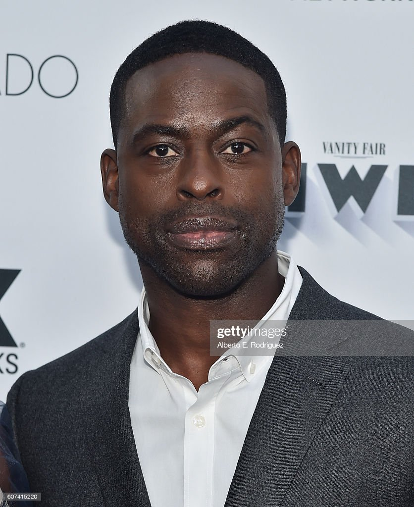 Actor Sterling K. Brown attends the Vanity and FX Annual Primetime Emmy Nominations Party at Craft Restaurant on September 17, 2016 in Beverly Hills, California.
