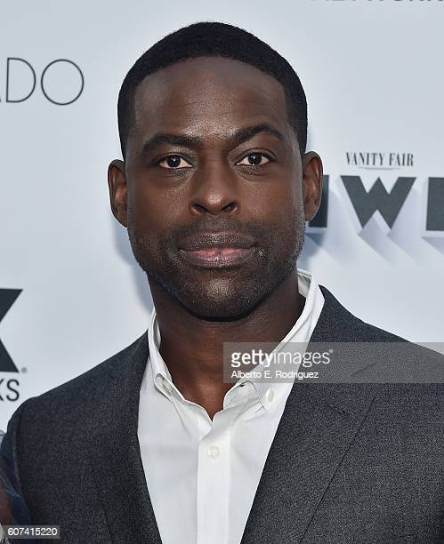 Actor Sterling K Brown attends the Vanity and FX Annual Primetime Emmy Nominations Party at Craft Restaurant on September 17 2016 in Beverly Hills...