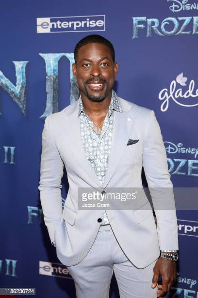 Actor Sterling K Brown attends the world premiere of Disney's Frozen 2 at Hollywood's Dolby Theatre on Thursday November 7 2019 in Hollywood...
