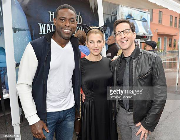 Actor Sterling K Brown Founder of the GOOD Foundation and host Jessica Seinfeld and Dan Bucatinsky attend FirstEver GOOD Foundation Halloween Bash...