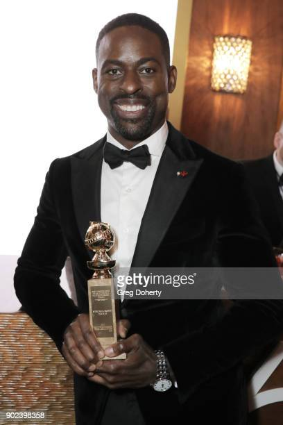 Actor Sterling K Brown winner of the award for Best Performance by an Actor in a Television Series for 'This Is Us' attends the Official Viewing and...