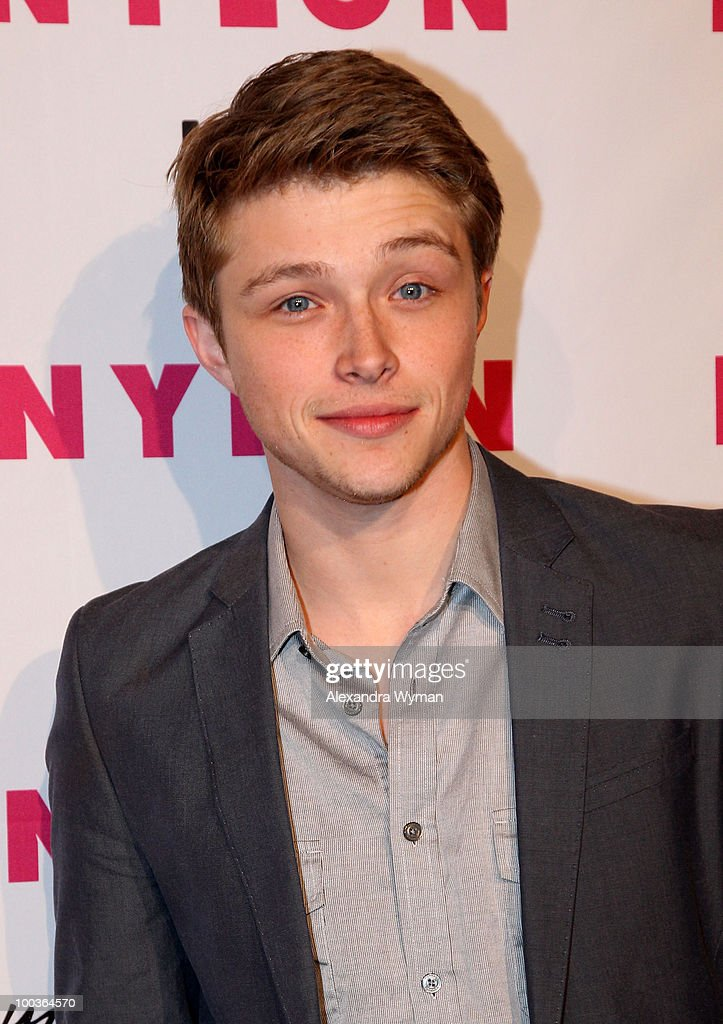 Actor Sterling Knight arrives at NYLON'S May Young Hollywood Event at Roosevelt Hotel on May 12, 2010 in Hollywood, California.