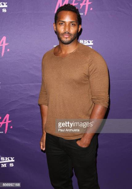 Actor Sterling Sulieman attends the premiere of Dark Sky Films' 'MFA' at The London West Hollywood on October 2 2017 in West Hollywood California