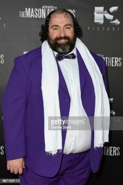 """Actor Steve Bethers attends the premiere of """"The Mason Brothers"""" at the Egyptian Theatre on April 11, 2017 in Hollywood, California."""