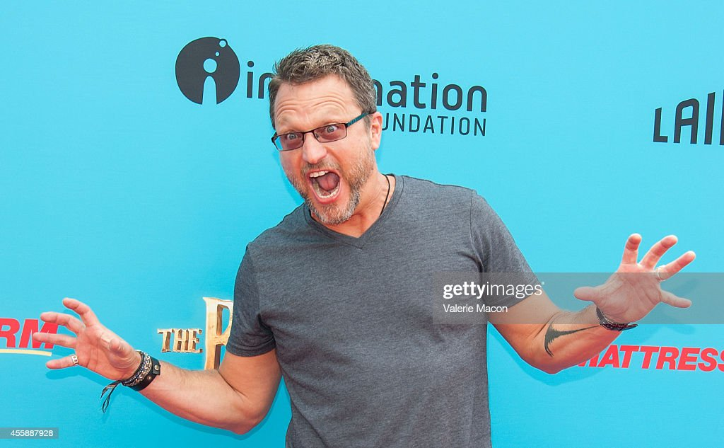 Actor Steve Blum arrives at the premiere of Premiere Of Focus Features' 'The Boxtrolls' at Universal CityWalk on September 21, 2014 in Universal City, California.