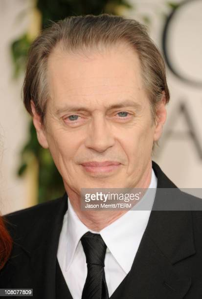 Actor Steve Buscemi arrives at the 68th Annual Golden Globe Awards held at The Beverly Hilton hotel on January 16 2011 in Beverly Hills California