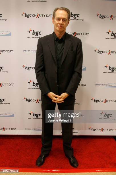 Actor Steve Buscemi attends Annual Charity Day Hosted By Cantor Fitzgerald And BGC at BGC Partners INC on September 11 2014 in New York City