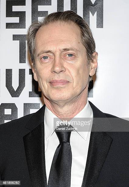 Actor Steve Buscemi attends as Museum Of The Moving Image Honors Julianne Moore at 583 Park Avenue on January 20 2015 in New York City