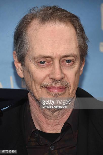 Actor Steve Buscemi attends Bright Star Opening Night on Broadway at The Cort Theatre on March 24 2016 in New York City