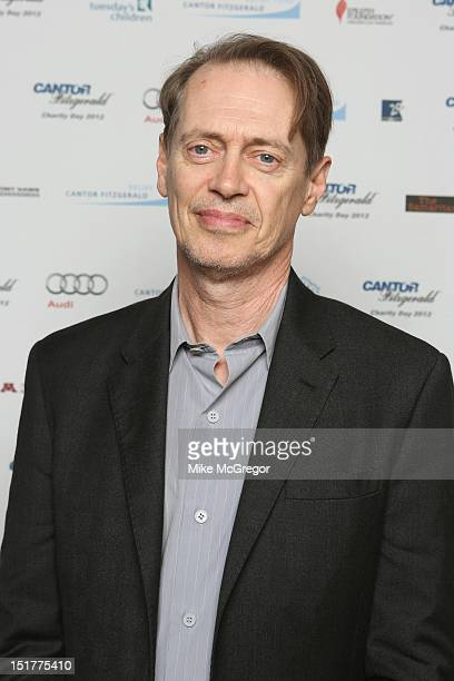 Actor Steve Buscemi attends Cantor Fitzgerald BGC Partners host annual charity day on 9/11 to benefit over 100 charities worldwide at Cantor...